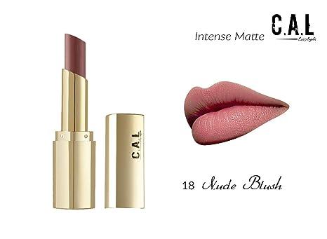 Buy C A L Los Angeles Intense Dry Matte Lipstick - Nude Blush 3 5 g