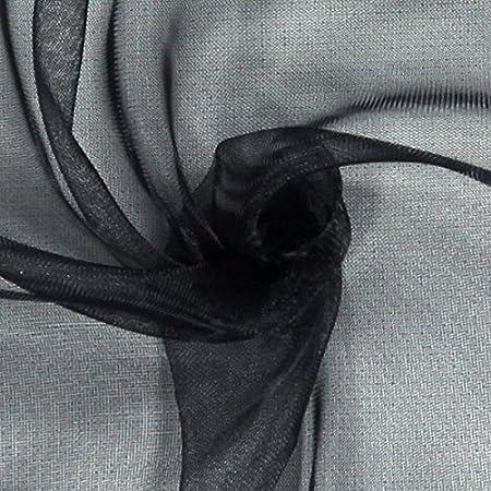 Kleidern und R/öcken 145/cm breit Meterware erh/ältlich ab 0,5 m Uni Fabulous Fabrics Organza apfelgr/ün Organza zum N/ähen von Brautmode