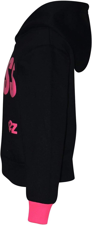 Kids Girls Tracksuit Designer #Floss Hooded Crop Top /& Bottom Jog Suit 5-13 Yr