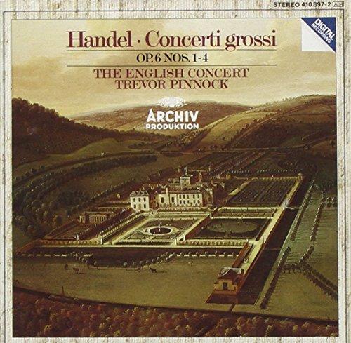 Handel: Concerti Grossi, Op. 6, Nos. 1-4