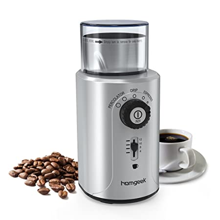 Homgeek Coffee Grinder --25%OFF
