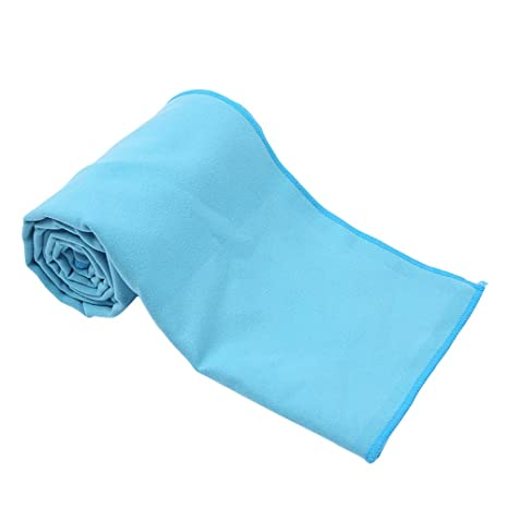 Frcolor Toalla de secado rápido de microfibra compacta, sudor absorbente toalla de deporte para acampar