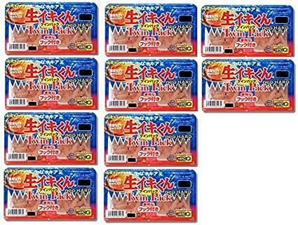 生イキくんツインパックネオハードLサイズ10個セット 釣り餌 チヌ グレ 磯釣りの画像