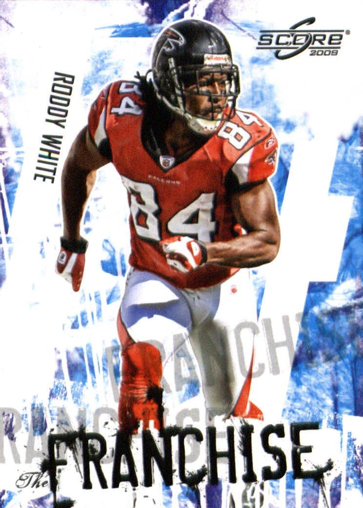 2009スコアFootball 18 The Falcons Franchise # B00B8RZ3EC 18 RoddyホワイトAtlanta Falcons B00B8RZ3EC, ナンコウチョウ:d428b23d --- harrow-unison.org.uk