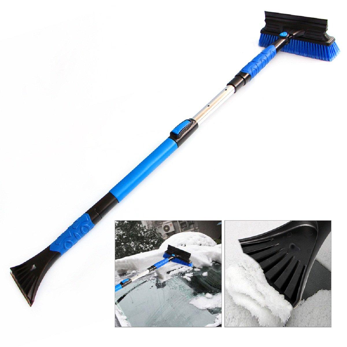 Amazon.com: R-Minas Retractable Handle Snow Shovel Snow Brush Car: Automotive