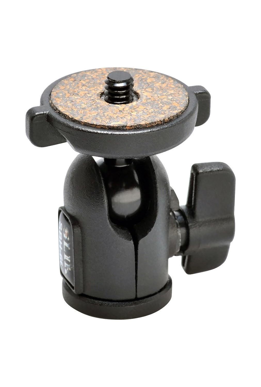 618-610 lbs. Supports 2.2 lbs SLIK SBH-100 Medium Compact Ballhead Black