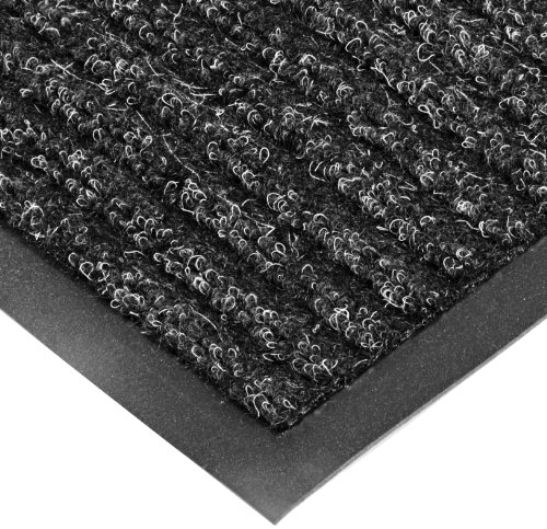 NoTrax T39 Bristol Ridge Scraper Carpet Mat, for Wet and Dry Areas, 4' Width x 6' Length x 3/8