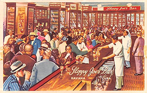 Sloppy Joe's Bar Havana Cuba, Republica de Cuba Postcard