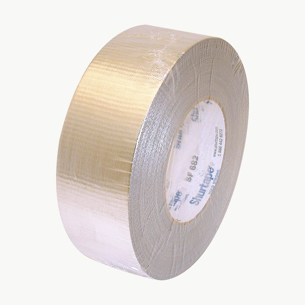 Shurtape SF-682/MSIL260 SF-682 HVAC Metalized Duct Tape: 2'' x 60 yd, Metalized Silver