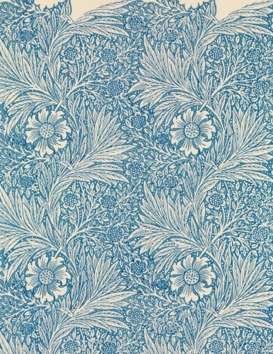 - Marigold, William Morris.  Ruled journal: 150 lined / ruled pages, 8,5x11 inch (21.59 x 27.94 cm) Soft cover / paperback