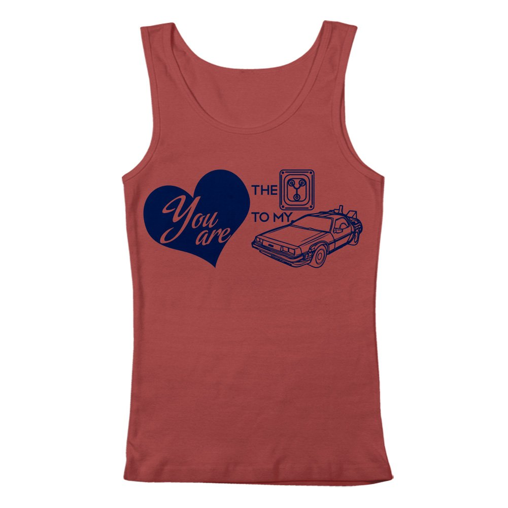 GEEK TEEZ You are the Flux Capacitor to my DeLorean Mens Tank Top
