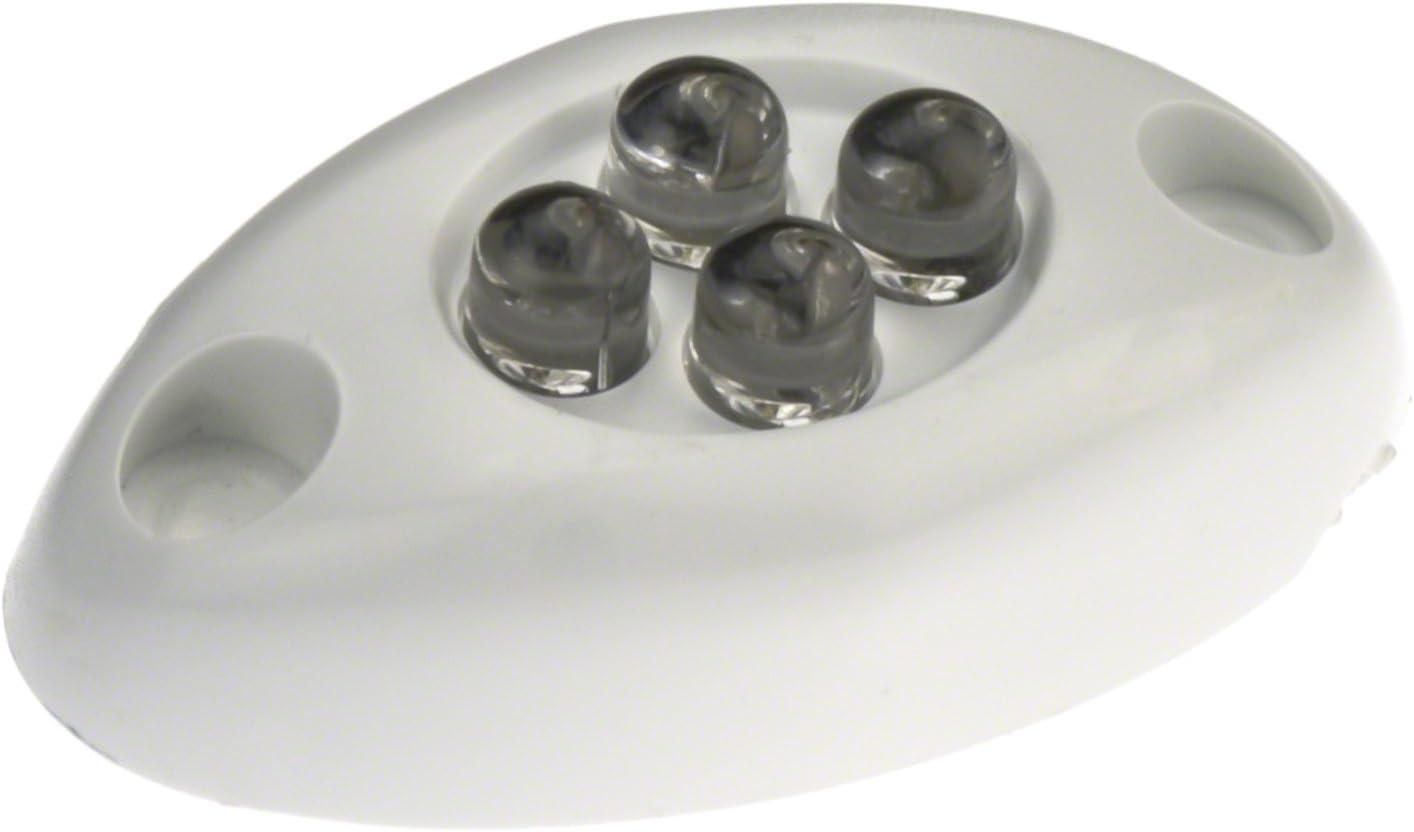 Innovative Lighting 004-5100-7 Surface-Mount 4 LED Courtesy Light - White LED with White Case