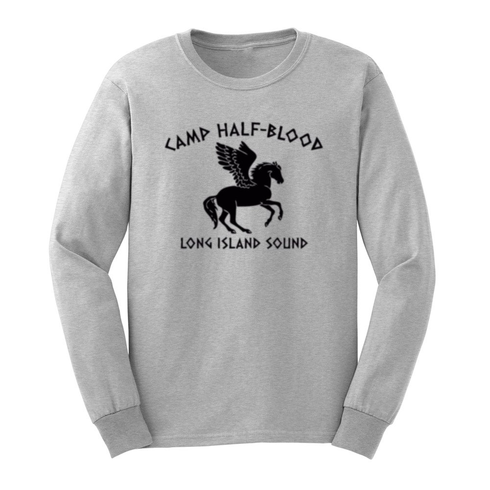 Loo Show S Camp Half Blood Long Island Sound T Shirts Casual Tee