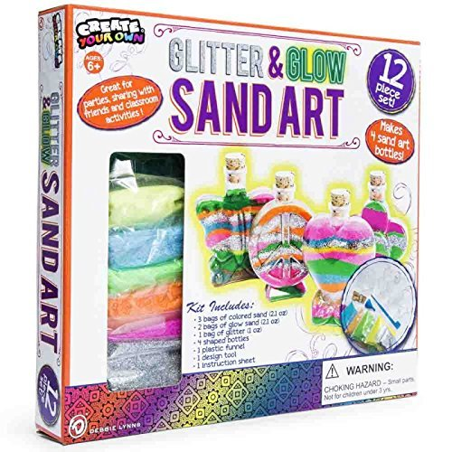Glitter and Glow Sand Art Debbie Lynn SG/_B01N209S4Q/_US