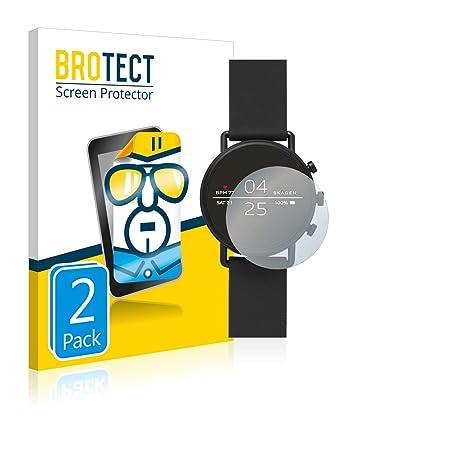 BROTECT Protector de Pantalla para Skagen Smartwatch Falster ...
