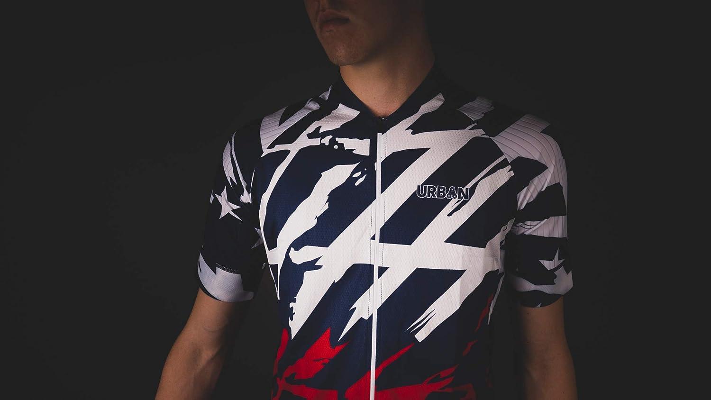 or Kit Bundle Men/'s American Patriot Short Sleeve Jersey Cargo Bib Shorts