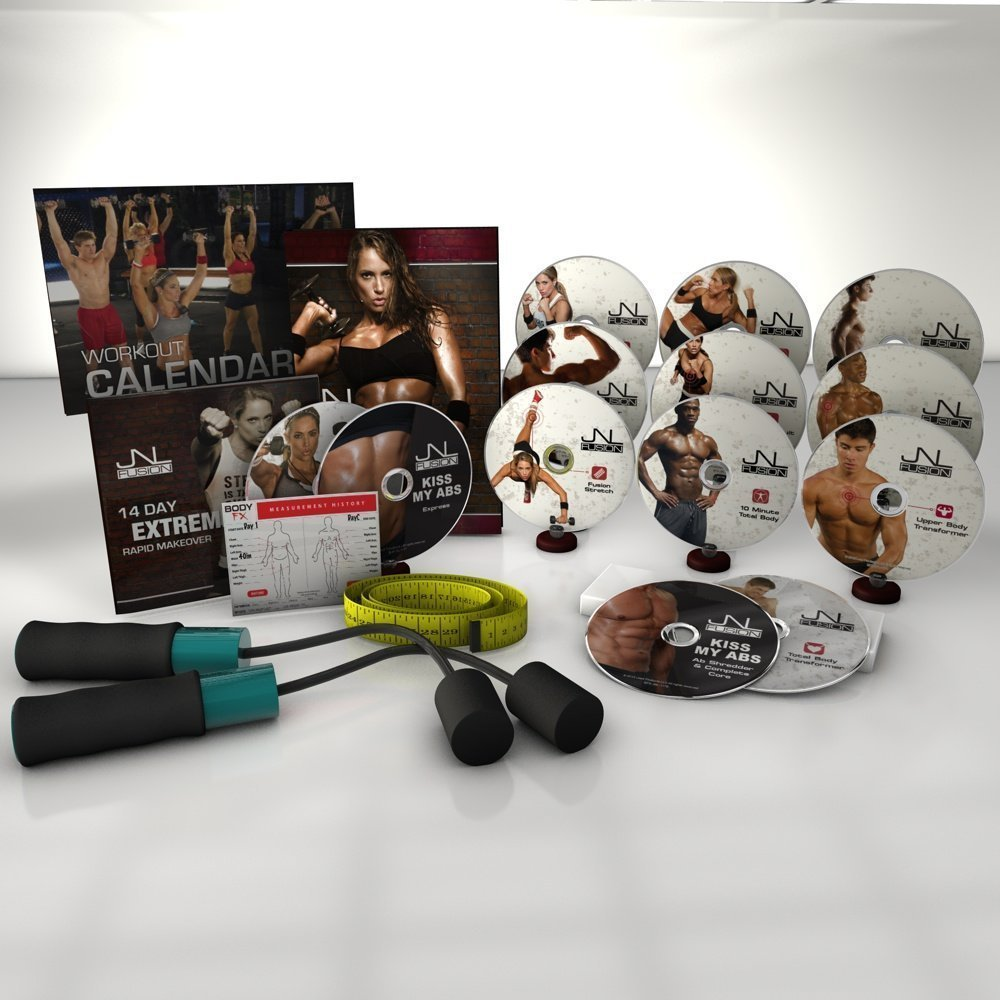 安い割引 JnlフュージョンComplete DVD B01M3PQ5D7 Fitness DVD Workoutスピードロープ Fitness B01M3PQ5D7, オオトネマチ:bc34e454 --- arianechie.dominiotemporario.com
