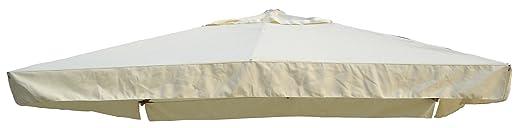 9 opinioni per Giardini del Re 55513 Telo di Ricambio Ombrellone, 290 x 390 x 2 cm, Ecru