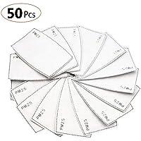 50 PCS filtro de carbón activado protector