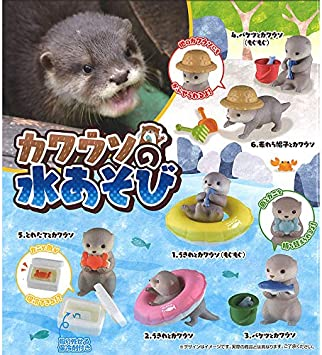 Gashapon Otter Habitat Capsule Toy Random