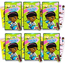 Disney Doc McStuffins Ultimate Party Favors Packs -- 6 Sets with Stickers, Coloring Books and More (Party Supplies)