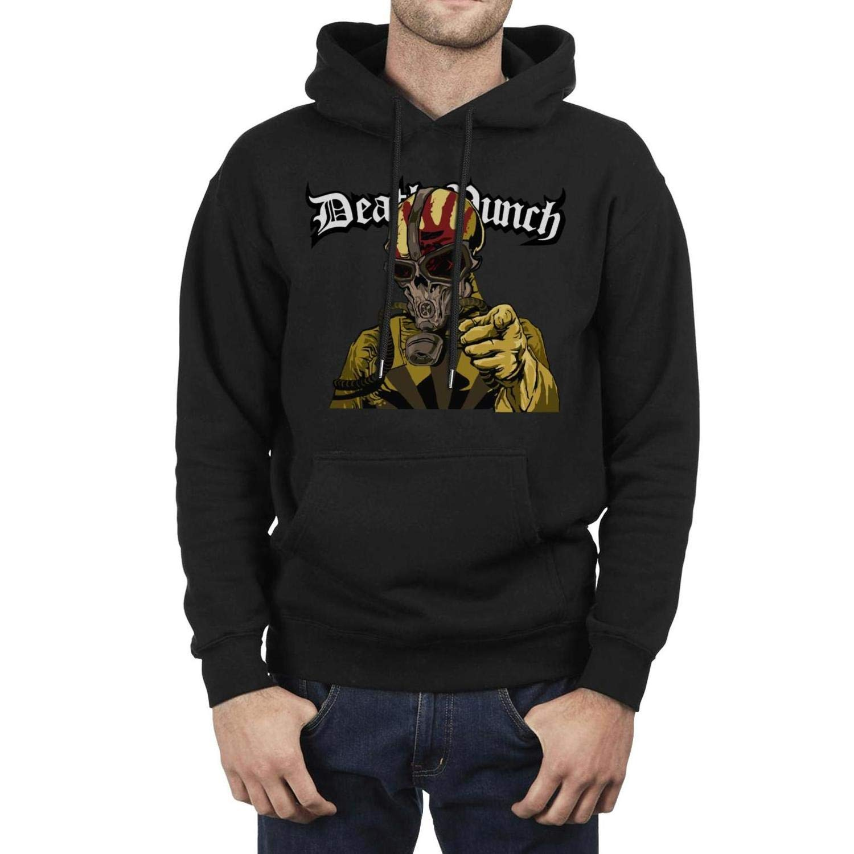 YJRTISF Drawstring Powerblend Print Fleece Pullover Hoodie Sweater for Man