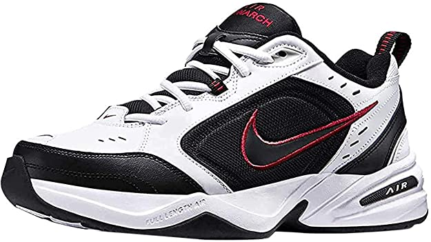 Noticias de última hora labios Naufragio  Amazon.com | Nike Air Monarch Iv Mens 415445-101 Size 10.5 White/Black |  Shoes