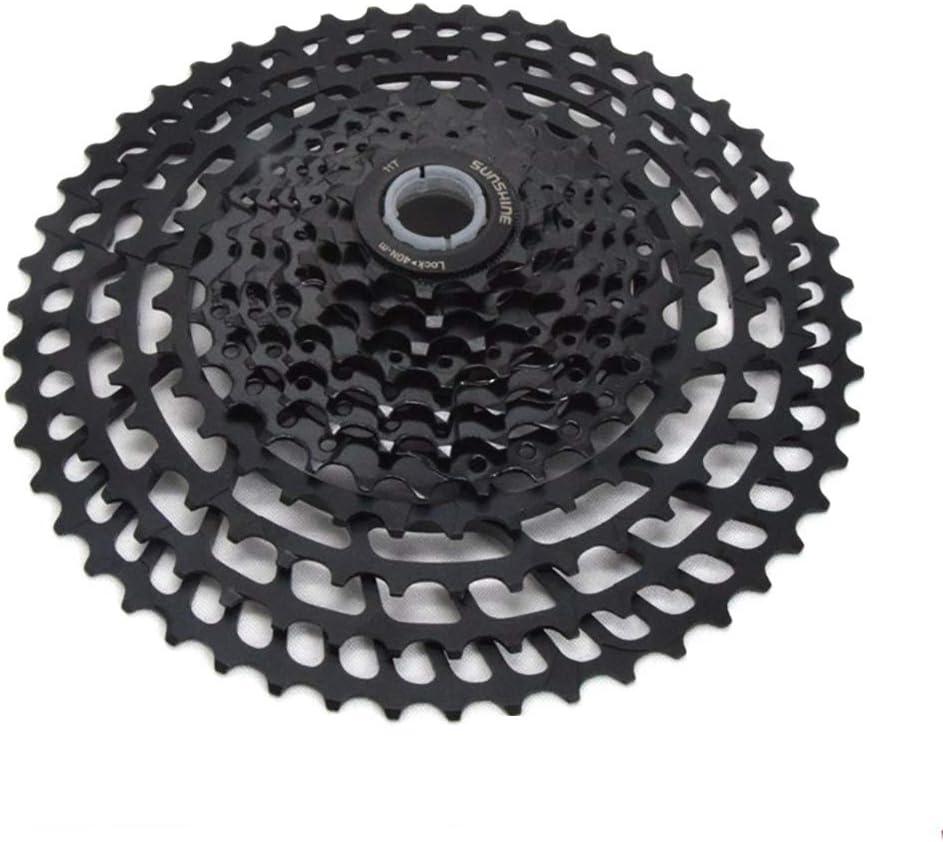 自転車フライホイール 11スピード11-50歯CNCフルホロー365gカードフライホイールシフトギアマウンテンバイクフライホイール 自転車部品フライホイール (色 : ブラック, サイズ : 11-50T) ブラック 11-50T