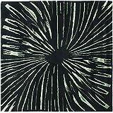 Safavieh Soho Collection SOH845A Handmade Black and Multi Premium Wool Square Area Rug (6' Square)