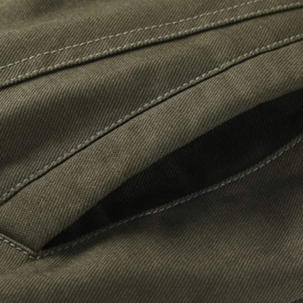 Mymyguoe Hombres Chaqueta Invierno Militar Outwear Ropa algodón táctico Transpirable Chaqueta Escudo de Manga Larga Lavado Chaqueta Militar de Gran tamaño ...