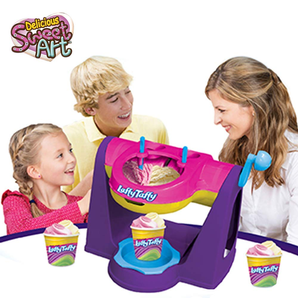 AMAV Laffy Taffy Ice Cream Maker Machine for Kids - Easy to Use & Make Your Favorite Ice Cream Flavors at Home - Best Group Activity for Friends to Do Together!