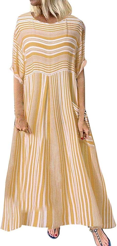 Qingsiy Vestidos Verano Mujer Casual De Playeros Playa Vestir ...