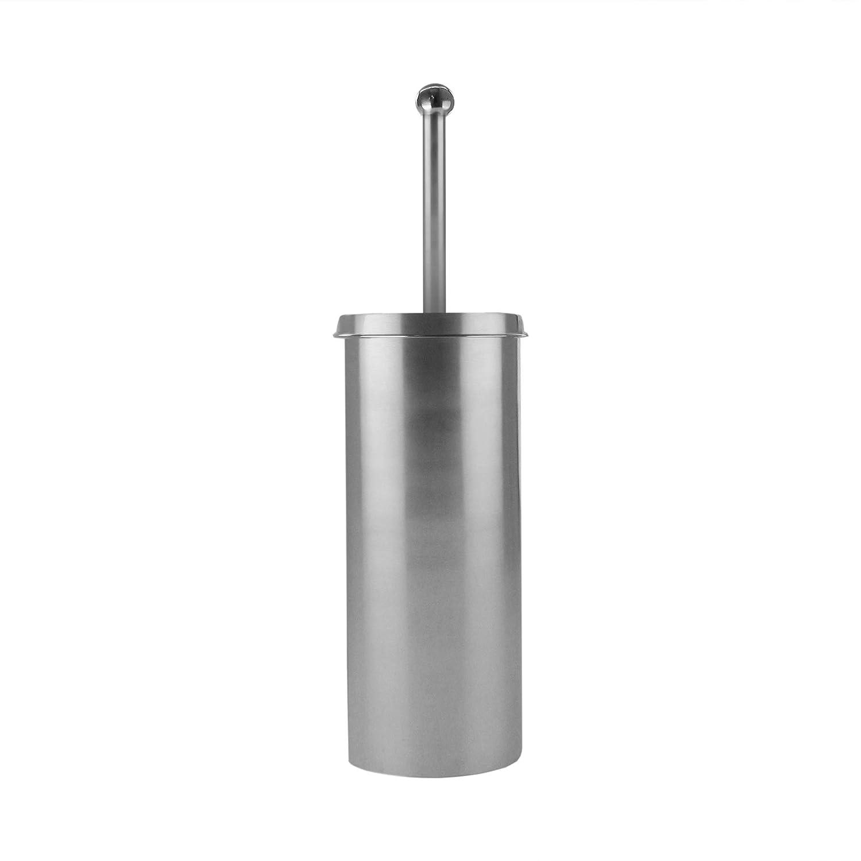 American Atelier Curvy Toilet Brush Holder Silver