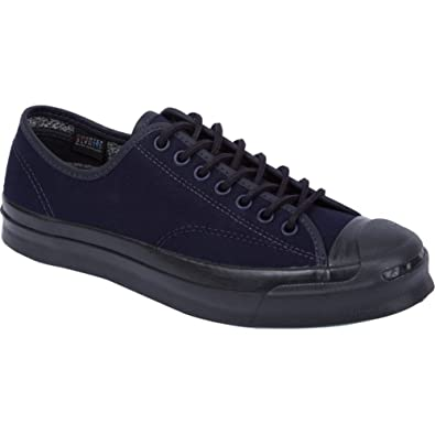 eaa59790d9b181 Image Unavailable. Image not available for. Color  Converse Unisex Jack  Purcell Signature Inked Black ...