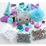 LOVEKITTY DIY 3D Blinged Out Kitty Cell Phone Case Resin Cabochons Deco Kit / Set Z257