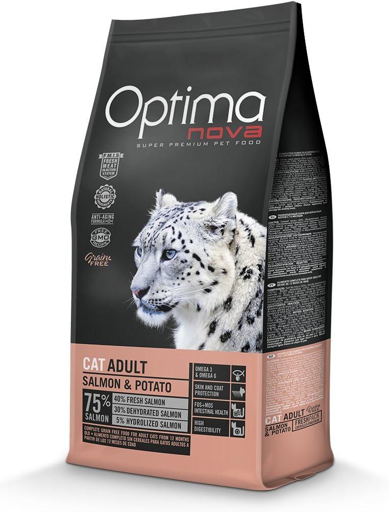 Optima nova Cat Adult Salmon & Potato Grain Free 8000 g
