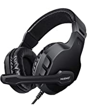 LUPSAN Gaming Headset Mic for Xbox one PS4 Controller, Skype PC Stereo Gamer Headphones with Microphone Computer Xbox one s Playstation 4 Xbox 1 x Games