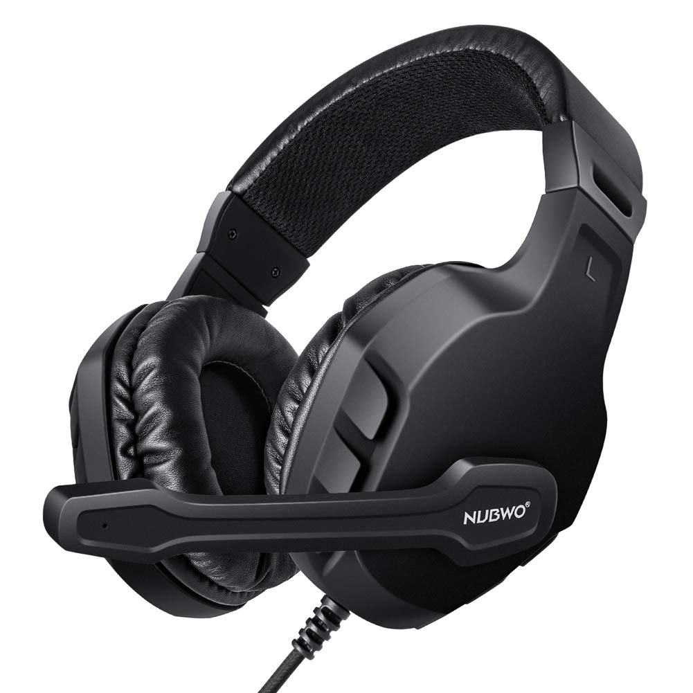 Modohe NUBWO Gaming Headset Mic for Xbox one PS4 Controller, Skype PC Stereo Gamer Headphones with Microphone Computer Xbox one s Playstation 4 Xbox 1 x Games by Modohe