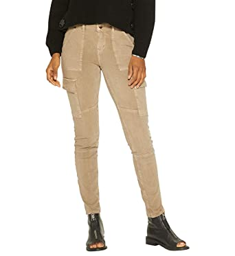 01ce6aa6 Amazon.com: Silver Jeans Co. Women's Mid Rise Skinny Cargo Jeans ...