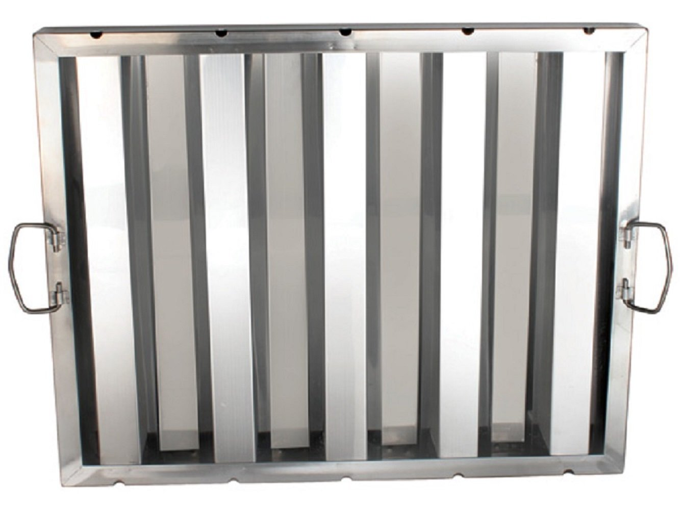 (6) FILTER STAINLESS STEEL HOOD GREASE FILTERS DIFFERENT SIZES RESTAURANT 6 PACK (20'' X 20'')