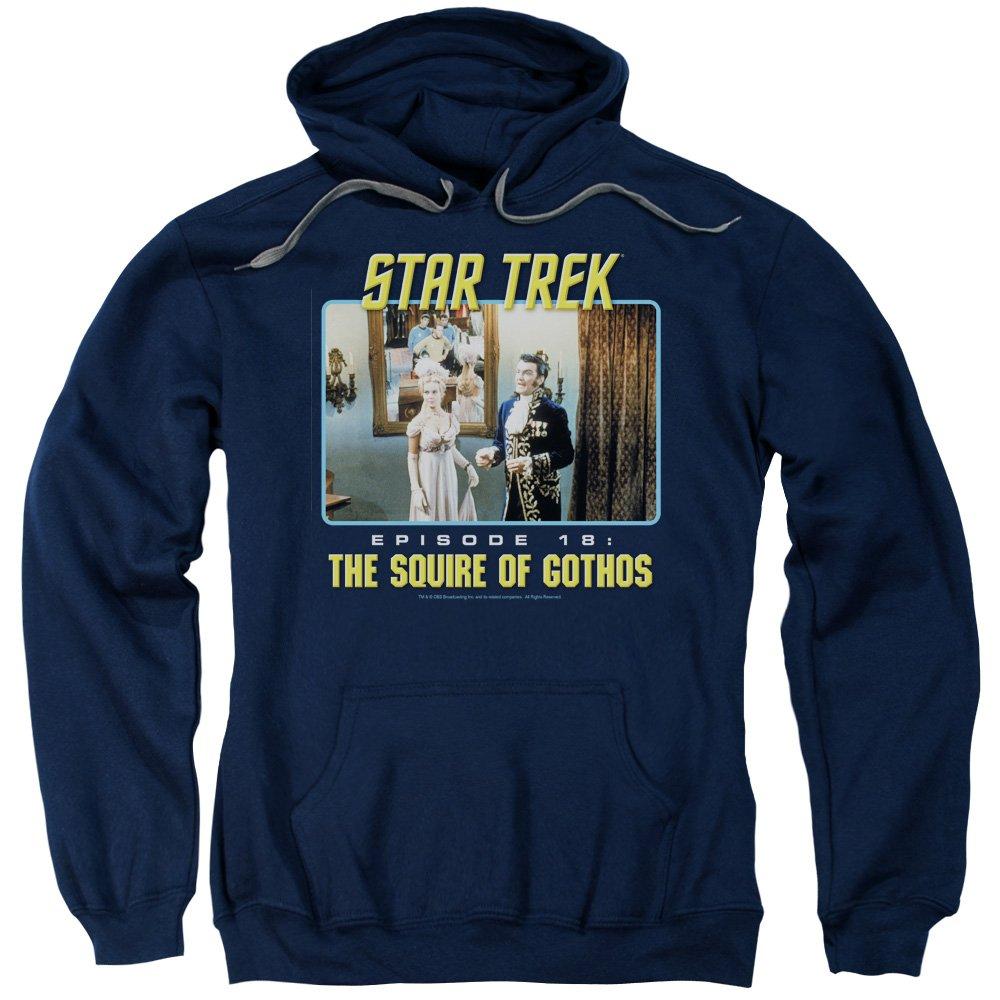 Star Trek Original-tv-serie der gutsherr von gothos hoodie für Herren
