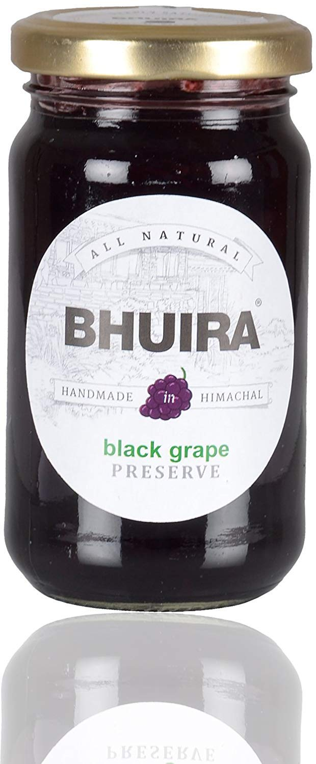 Bhuira Black Grape Preserve, 240grams