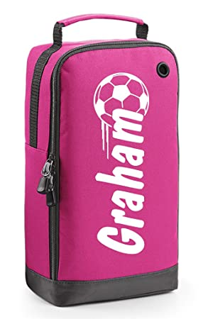 Nombre de regalo bolsa para botas de fútbol - Fútbol - Personalizado en  diseño de bola e52c69402c07d