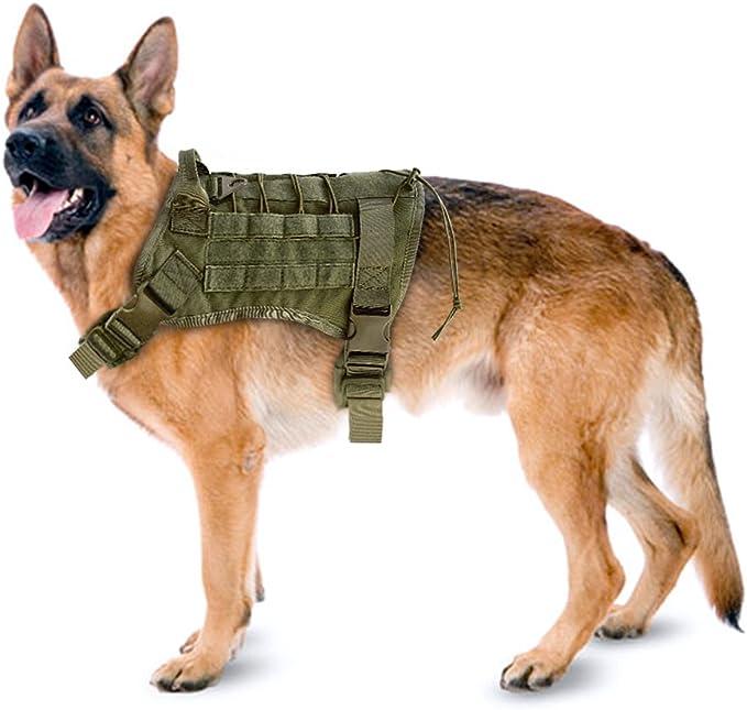 Pet Artist Arnés Táctico Militar para Perro con asa para Perros de ...