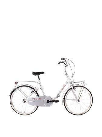 SCHIANO Bicicleta Plegable 24 301 Plata