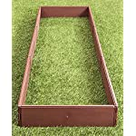 "The Lakeside Collection Raised Garden Bed Set for Vegetable and Flower Gardening 8 Perfect for vegetable or flower gardening, this convenient kit is the perfect gift for moms and dads trying to enhance the look of their yard or other outdoor space Easily assembles into one large garden box or two smaller raised beds. 8 Stakes ensure this garden kit is securely planted into the ground. Set includes: 8 Side panels, 21-1/4""W x 3/4""D x 5-1/2""H, each, 8 Stakes, 5/8"" dia. x 9-3/4""L, each"