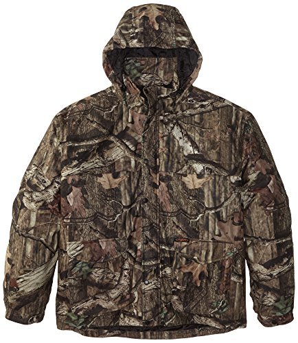 Yukon Gear Men's Mossy Oak 3N1 Insulated Parka Jacket