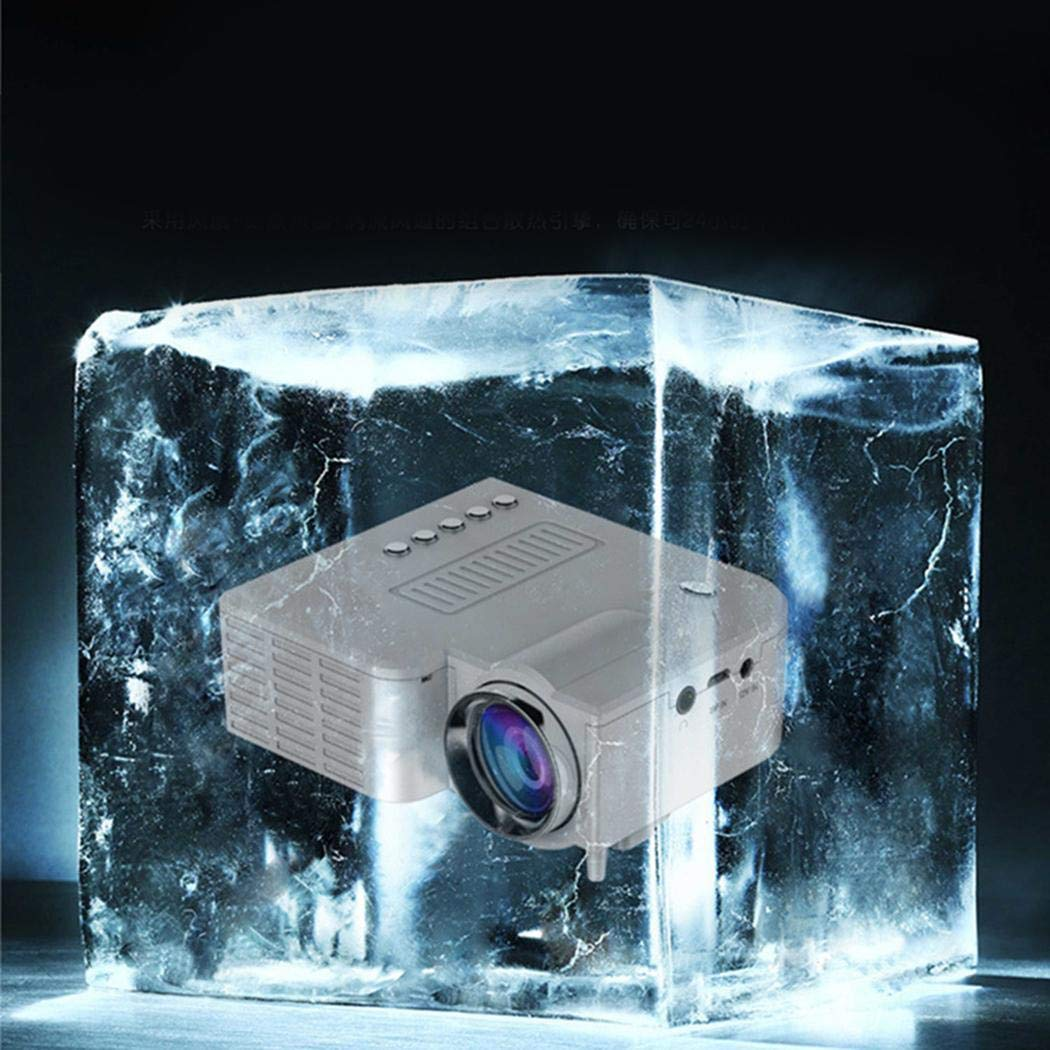 Jintes Mini Proyector LED Portátil 1080P Multimedia Cine Cine en ...