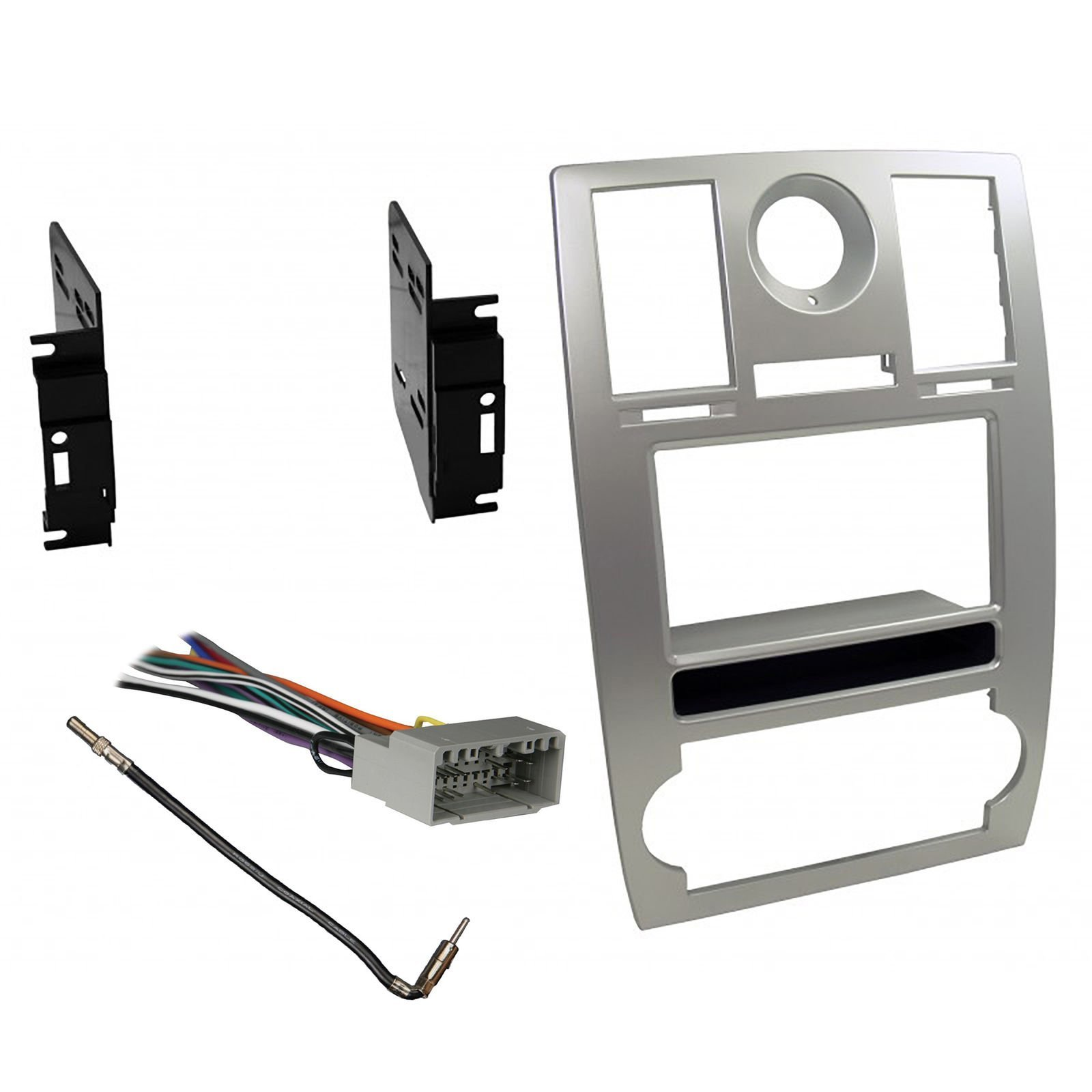Deals R Us Car Radio Stereo CD Player Dash Install Mounting Trim Bezel Panel Kit Mount by American Terminal