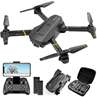$50 » 4DRC V4 Drone with 1080P HD Camera for Adults and Kids, Foldable Quadcopter with Wide Angle…